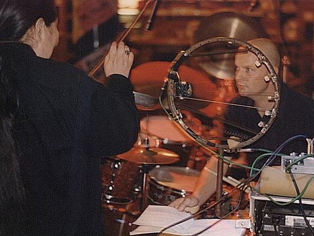 Pavel Fajt v akci.