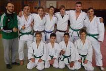 Dorostenecký tým Sport Judo Litoměřice.