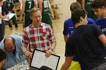 Jan Šotnar (ještě jako trenér Litoměřic) je novým koučem basketbalistů Ústí nad Labem