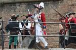 Další ročník Posledních pirátských válek opět proběhl v terezínské pevnosti.