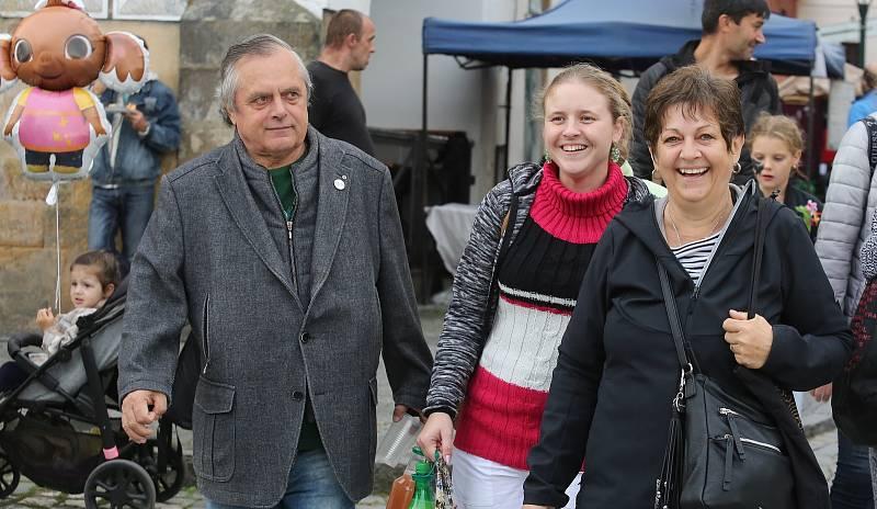V Litoměřicích proběhlo v sobotu 18. září po dvou letech opět vinobraní.