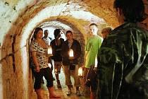 Již podruhé se letos otevřely návštěvníkům podzemní chodby pod pevnostním městem Terezín.