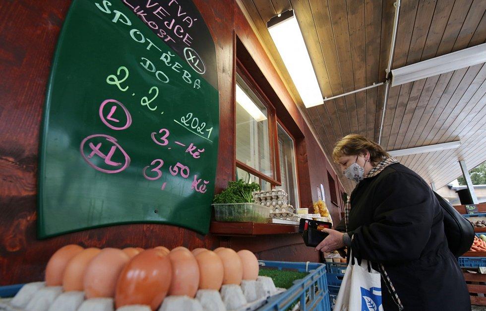 První farmářské trhy roku 2021 v Litoměřicích v pátek 15. ledna