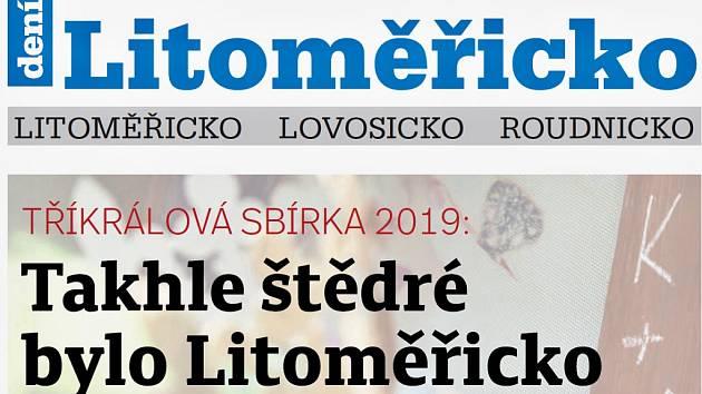 Týdeník Litoměřicko ze 30. ledna 2019