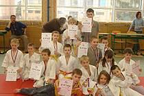 USPĚLY. Mladé naděje Sport Judo Litoměřice vybojovaly při Velké ceně devatenáct medailí.