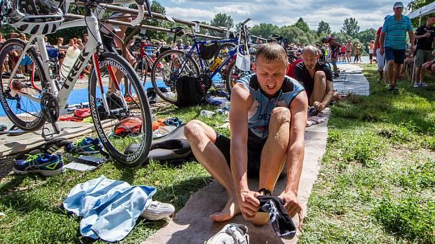 Silniční triatlon v Hostěnicích 2017.