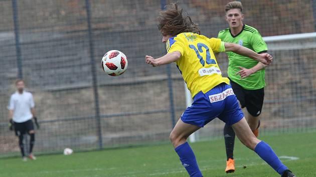 Fotbalový zápas FK Litoměřicko a Vyšehrad, ČFL 2018/2019