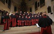 Adventní koncert se uskutečnil v neděli v podvečer v katedrále sv. Štěpána v Litoměřicích. Pod názvem Katedrála plná hudby zde vystoupili Páni kluci, Collegium Hortensis a trubači Pražského hradu.