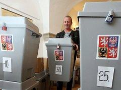 Volební urny. Ilustrační foto
