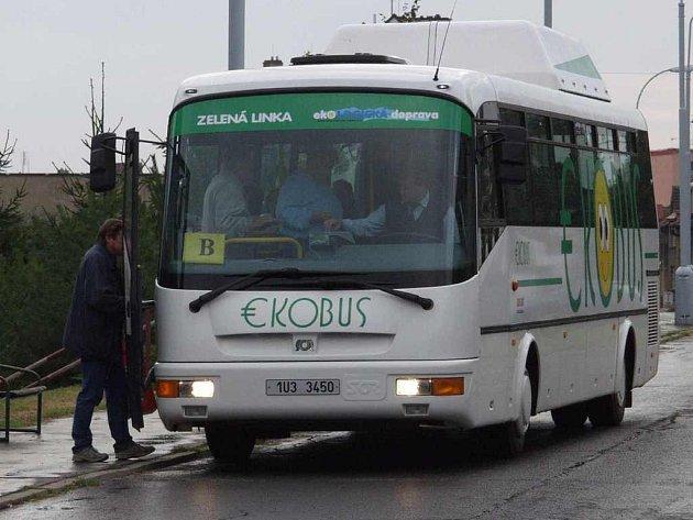 Ekobus, jezdící po Litoměřicích