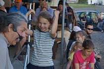 Fotografie z minulé akce Dětský den konané na Lodním náměstí 31. května 2014.