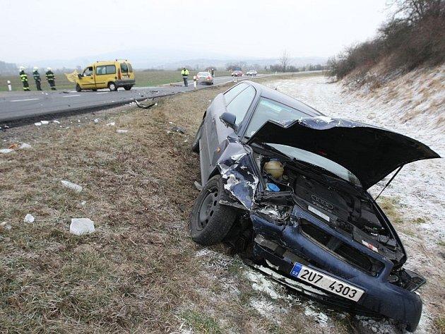 Nehoda u Ploskovic - 31. 12. 2008.