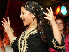 Orientální tanec, ilustrační foto.