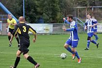 Fotbal, I. A třída, Roudnice - Chuderov.
