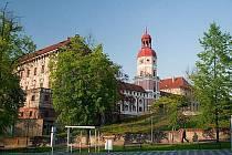 Zámek v Roudnici nad Labem.