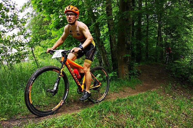 Triatlet Petr Cmunt