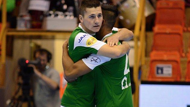 Futsalisté Gardenline Litoměřice.