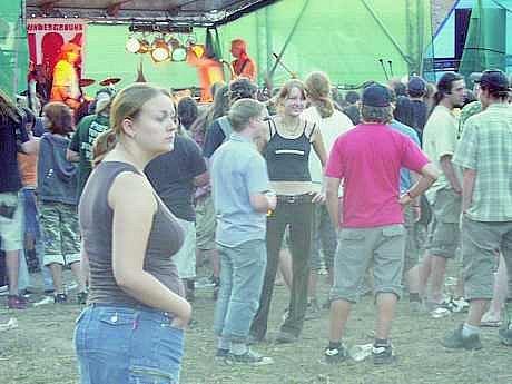 Vloni přijelo do Oleška 800 lidí (viz snímek). Kolik dorazí letos?
