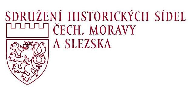 Logo Sdružení historických sídel Čech, Moravy a Slezska.