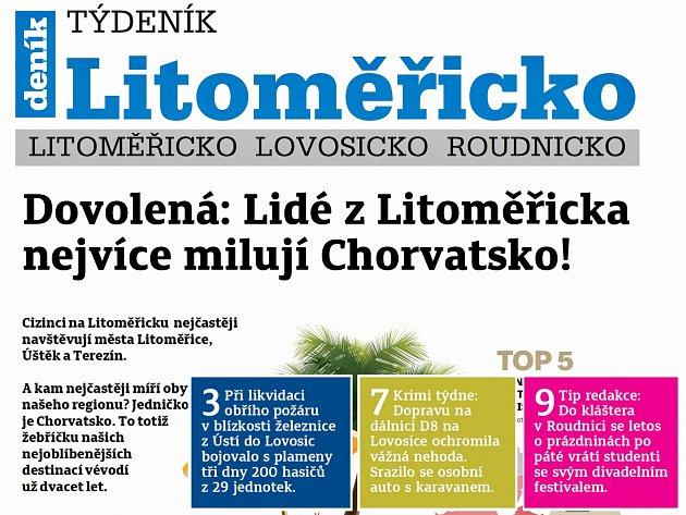 Týdeník Litoměřicko z 11. července 2018