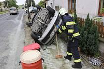Dopravní nehoda v Trnovanech