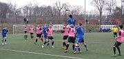 Fotbaloví dorostenci SK Roudnice remizovali s týmem Iowa Rush Soccer Club 3:3.