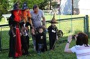 Pálení čarodějnic v Chodovlicích na Lovosicku