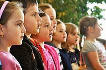 Setkání seniorů a dětí z centra Srdíčko se uskutečnilo v Domově na Dómském pahorku Litoměřice.
