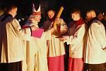 Velikonoční vigilie v katedrále sv. Štěpána v Litoměřicích
