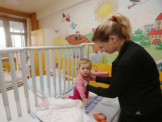 Nemocnice v Litoměřicích nabízí pacientům dětského oddělení dva nadstandardně vybavené pokoje.