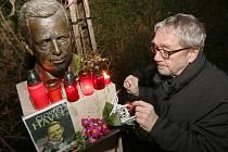 Vzpomínka na Václava Havla v Litoměřicích