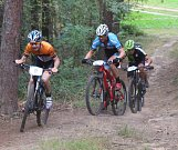 Letošního ročníku Přestavlckého vlka se zúčastnilo více než osm desítek bikerů.