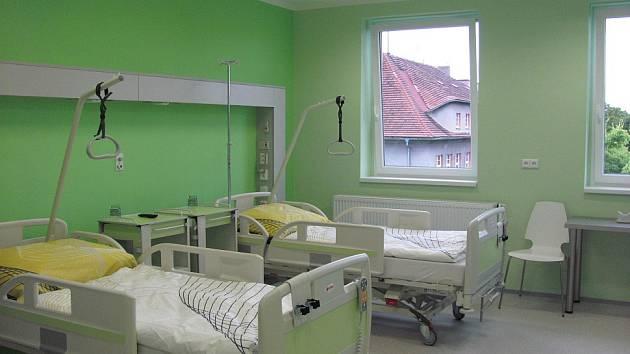 Zelený pokoj.