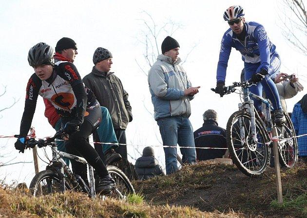 Silvestrovský cyklokros v Terezíně 2012.