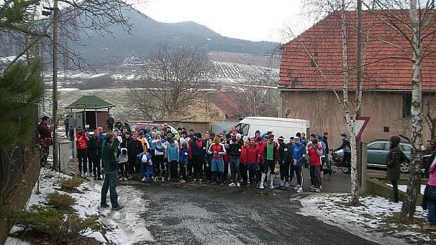 Běh na Boreč.