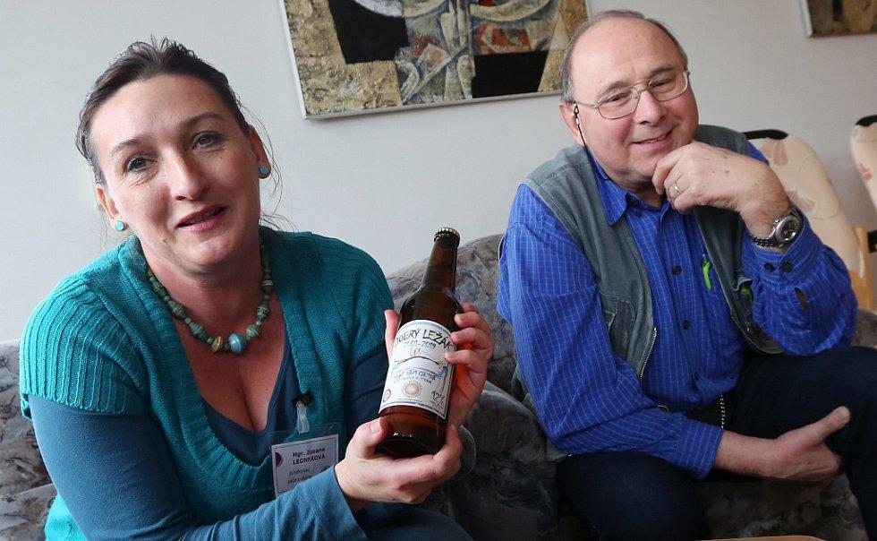 Oslavy výročí založení si hospic připomíná speciálním pivem Dobrý ležák