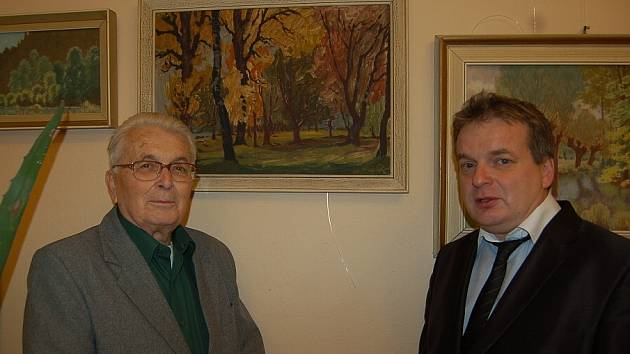 SYN A VNUK Františka Ryšánka. Miloslav Ryšánek (vlevo) a Tomáš Ryšánek.
