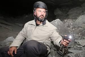 Amatérský historik a badatel Tomáš Rotbauer chce prolomit tajemství podzemní nacistické továrny Richard u Litoměřic.