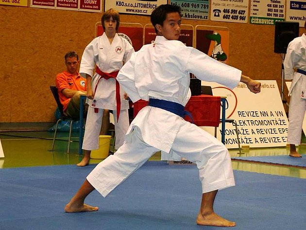 Roman Luong získal stříbro a bronz.