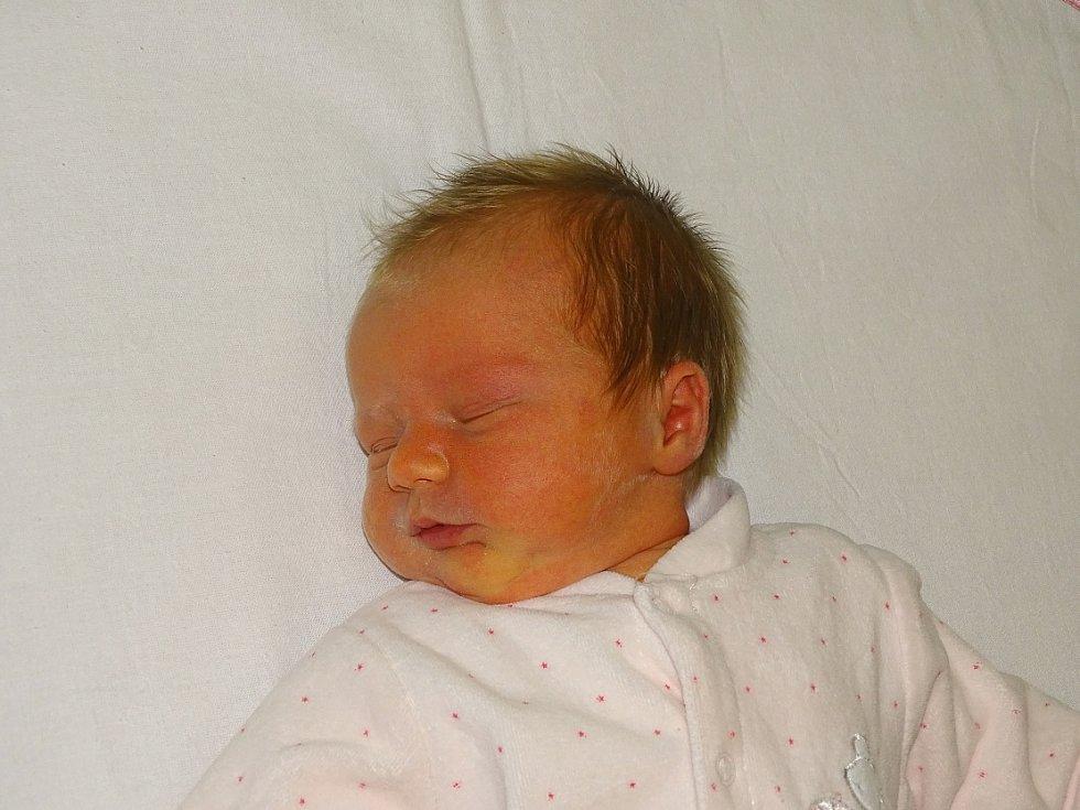 Karolína Pokorná se narodila Jiřině a Karlu Pokorným ze Zahořan 16.12. v 22.29 hodin v Litoměřicích (3,54 kg a 51 cm).