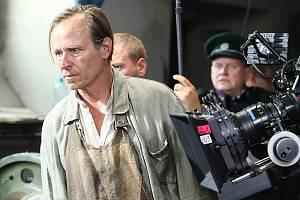 Natáčení filmu Lidice v Litoměřicích.
