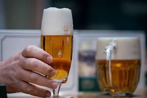 Ilustrační snímek. Pivo.