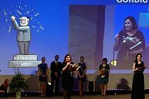Vedoucí oddělení informačních technologií městského úřadu Leona Slabochová se umístila na druhém místě v soutěži eOsobnost Egovernmentu.