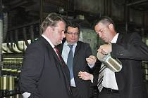 Ministři v Lovosicích.