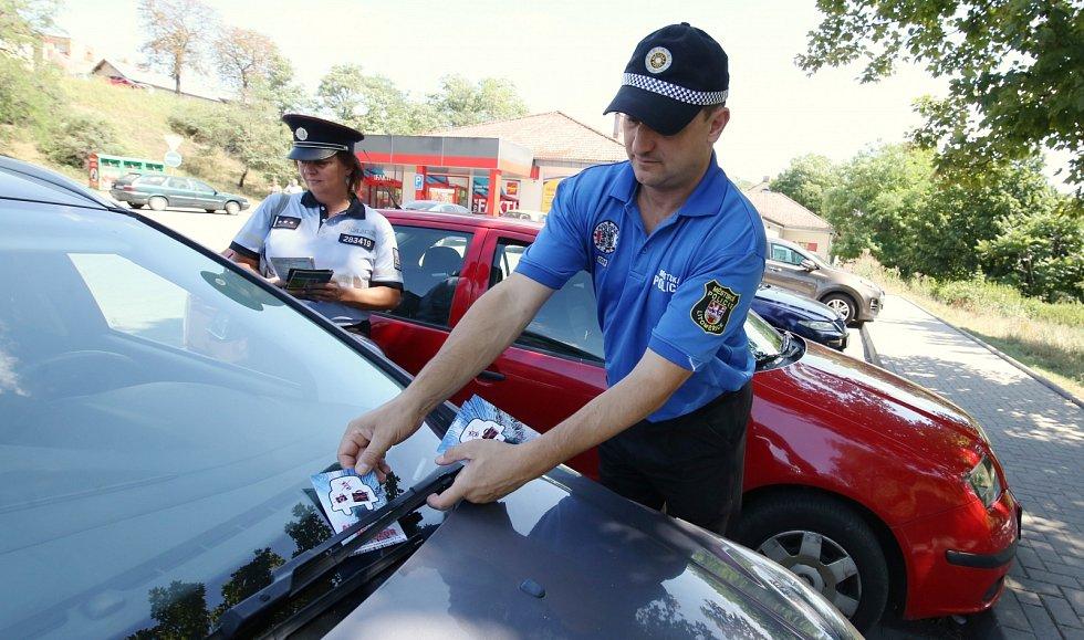 Preventivní akce policistů a strážníků v Litoměřicích
