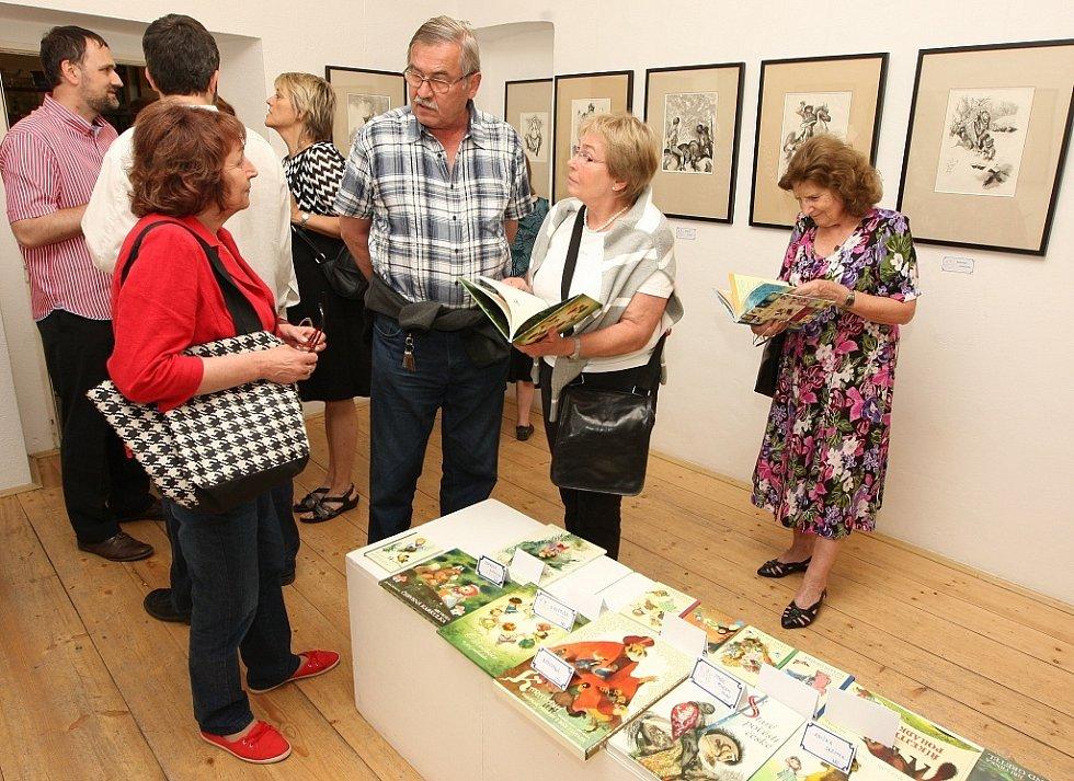 Kresby Jiřího Trnky jsou nyní k vidění v úštěcké galerii.
