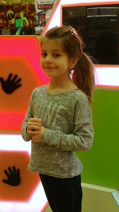 5. Leona Hesová - 6 let, Předonín.