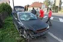 Nedělní nehoda v Litoměřicích