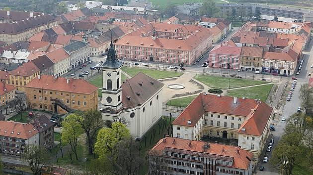 Město Terezín.