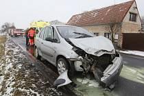 Na silnici mezi Terezínem a Bohušovicemi opět došlo k dopravní nehodě.